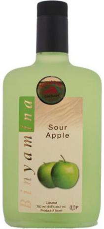 Binyamina Liqueur Sour Apple